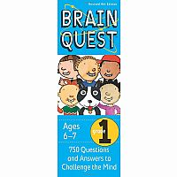 Brain Quest Grade 1 4th Edition