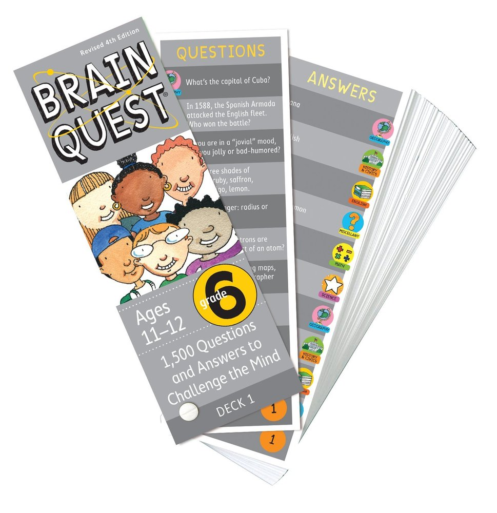 brain quest workbook grade 6 pdf