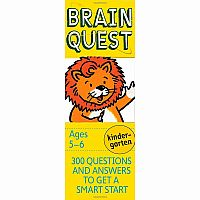 Brain Quest Kindergarten 4th Edition