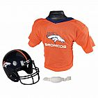 NFL Helmet and Jersey Broncos