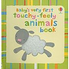 Baby's Very First Touchy-feely Animals Book board book