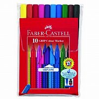 10 Ct Grip Color Markers