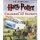 Harry Potter and the Chamber of Secrets- Book 2: The Illustrated Edition Hardback