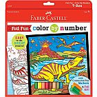Color by Number Foil Fun - T-Rex