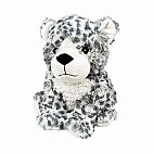 Cozy Plush Snow Leopard