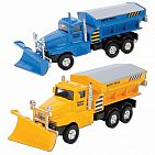 Die Cast Snow Plow Truck