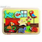 Domestic Animals Chunky Puzzle