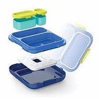 Blue Neat Bento Kid's Lunch Box
