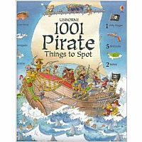 1001 Pirate Things To Spot Hardback