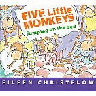 Bb Five Little Monkeys Jumping On The Bed Eileen Christelow
