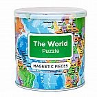 World Magnetic Puzzle 100 Pieces