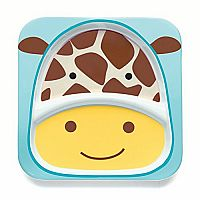 Giraffe Zoo Divided Plate