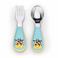 Giraffe Zoo Utensil Set