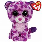 Glamour Pink Leopard Small Beanie Boo