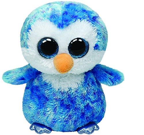 Ice Cube Blue Penguin Medium Beanie Boo Grand Rabbits