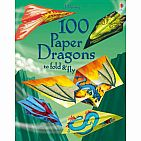 100 Paper Dragons To Fold and Fly (paperback)