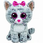Kiki Grey Cat Medium Beanie Boo