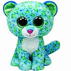 Leona Blue Leopard Medium Beanie Boo