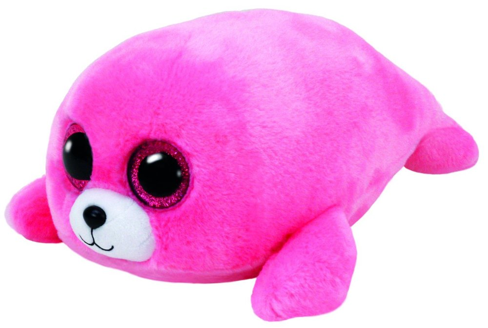 afd90fdcf0a Pierre Pink Seal Small Beanie Boo - Grand Rabbits Toys in Boulder ...