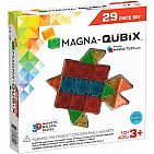 Magna-Qubix 29-Piece Clear Colors Set