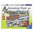 Railway Station 60pc Puzzle