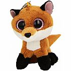 Slick Brown Fox Clip On Beanie Boo