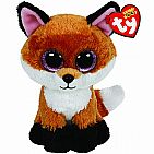 Slick Brown Fox Small Beanie Boo
