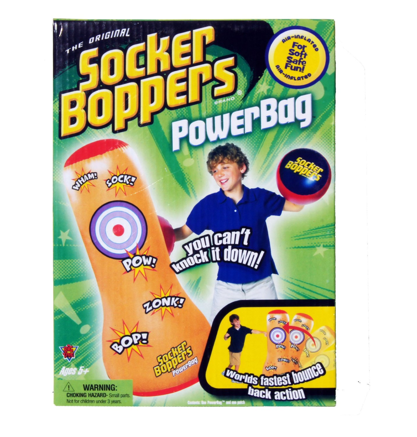 Socker Boppers Power Bag: Grand Rabbits Toys In Boulder