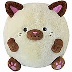 "Squishable 15"" Siamese Cat"