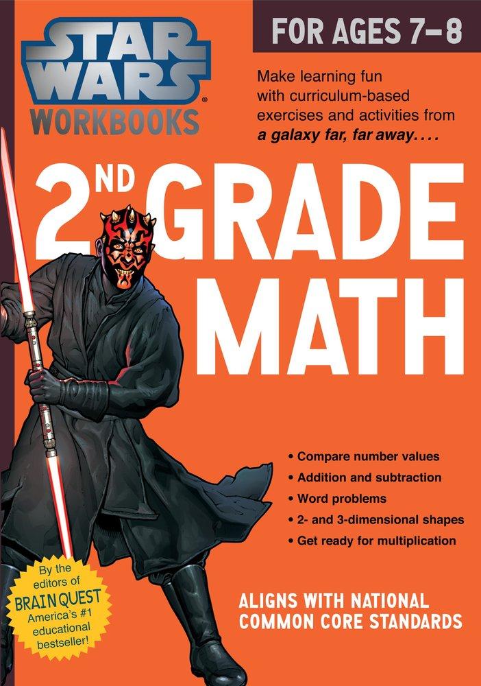 Star Wars Workbook: 2nd Grade Math - Grand Rabbits Toys in Boulder ...