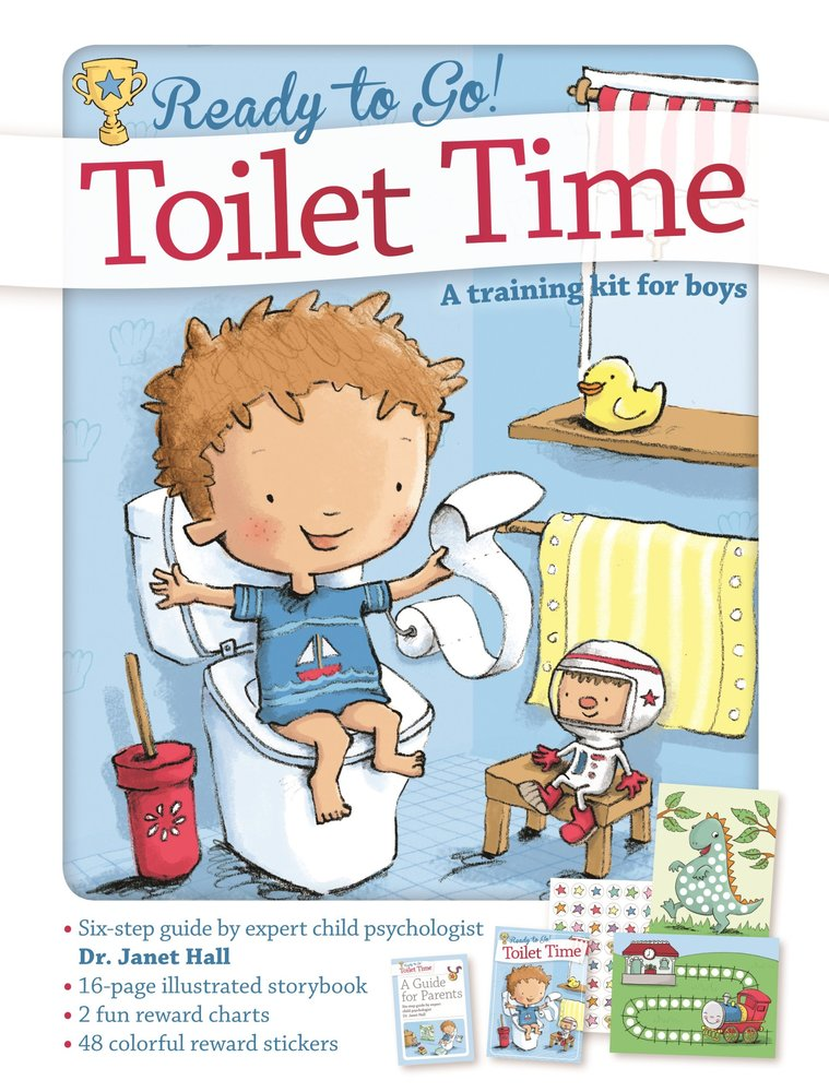 Hb Toilet Time A Training Kit For Boys Dr. Janet Hall