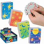 Celestial Mini Playing Cards (Assorted Colors)