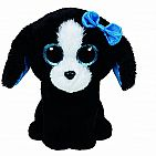 Tracey Black and White Dog Small Beanie Boo