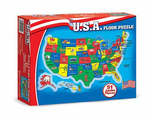 Usa Map Puzzle Wonderfoam Grand Rabbits Toys In Boulder Colorado: Wonderfoam Usa Map Puzzle At Infoasik.co