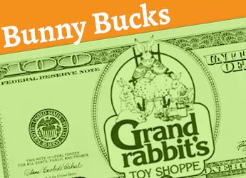 3 Bunny Bucks